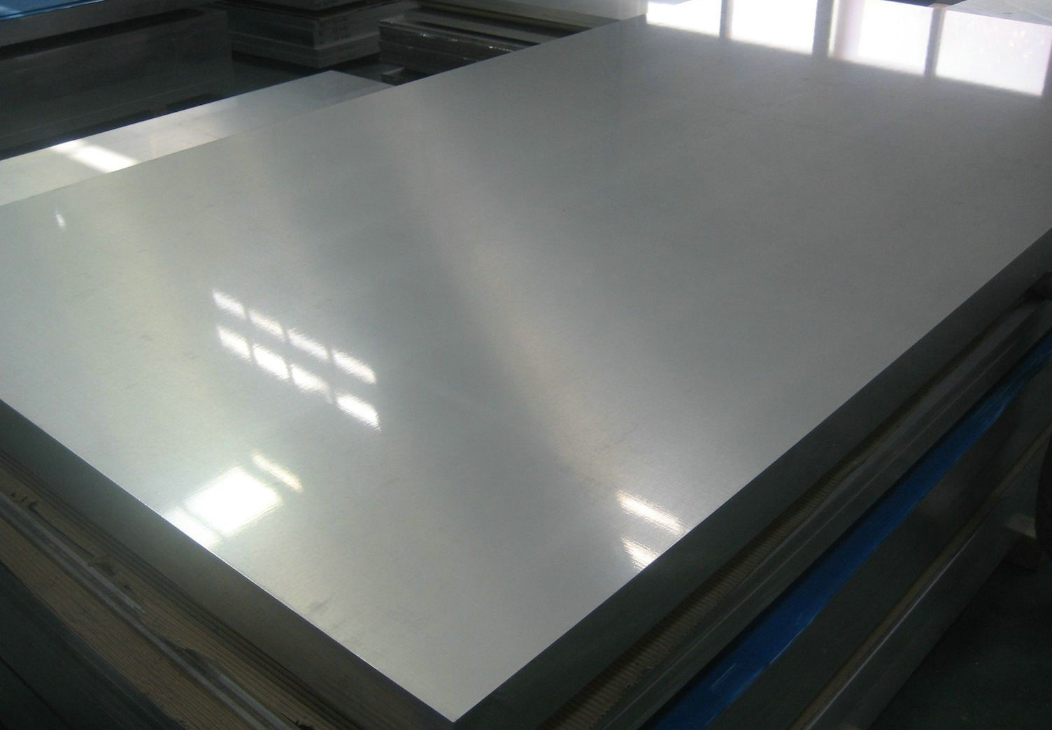 """set of 4 11 Gauge Stainless Steel 2B Mill Finish 304 Sheet Plate 6/"""" x 12/"""""""