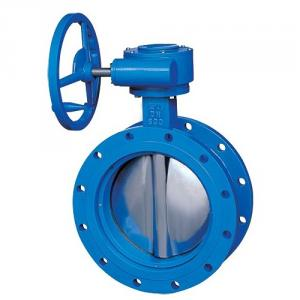 Hot Sell Butterfly Valve Concentric Rubber Wafer PTFE 360 Hard-Backed ISO 5211 Shaft Support