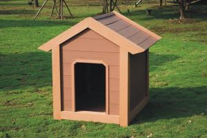 Wood Plastic Composite Dog House CMAX S028