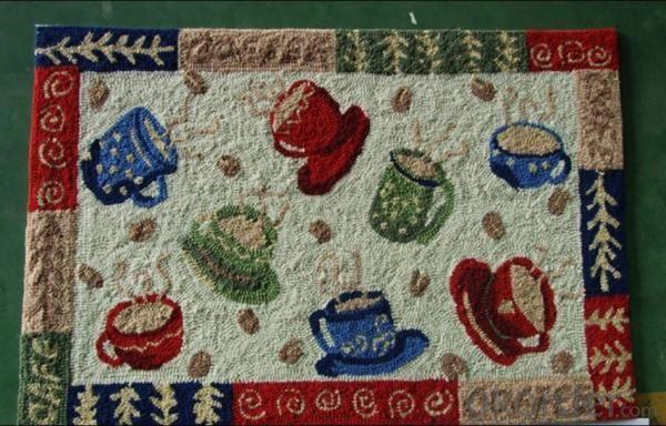 Polyester Hook Carpet Home Use