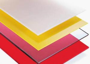 10 Year Quality Frosted Polycarbonate Sheet With Many Colors