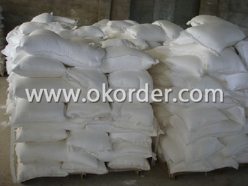 bags in store of Zinc Oxide