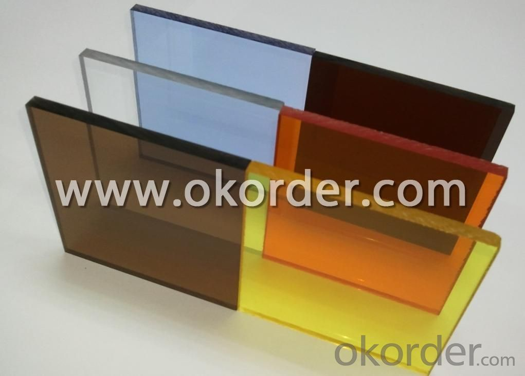 Extruded Acrylic Sheet With UV Protection And Different Colors