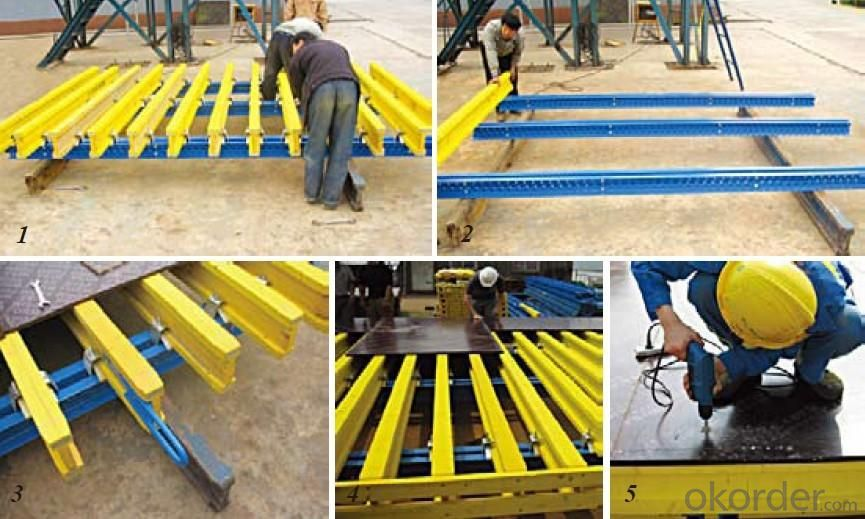 Formwork System-H20 Timber Beam With Length 4500 mm