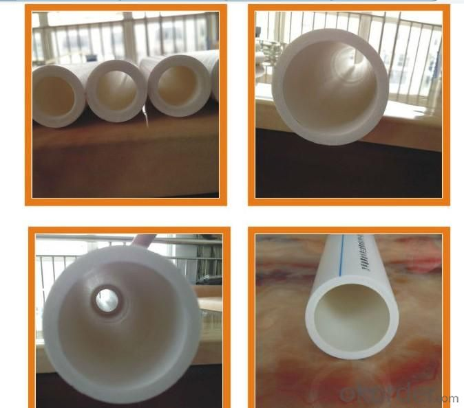 PPR Pipe (white, gray)