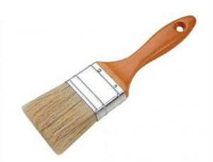 Paint Brush With Wood Handle
