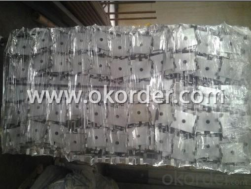 Hot Dip Galvanized Adjust U-head With Length 780mm