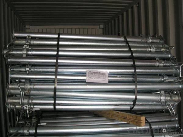 Hot Dip Galvanized Adjust U-head With Length 300mm