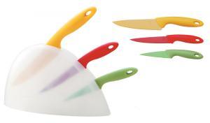 3 pcs High Quality Non-stick Colorful Knife Set