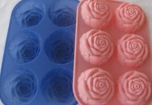 Rose Shape Silicone Cake Mold