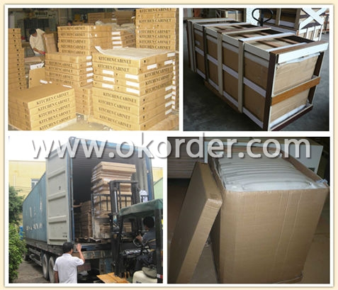 Packing and Loading of Solid Wood TV Stand
