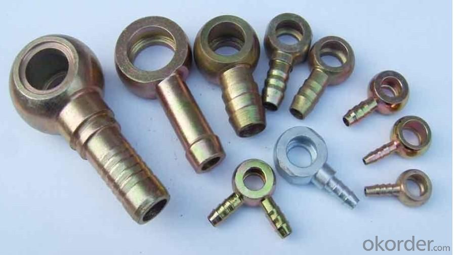 High Quality Hydraulic  Hose Fittings