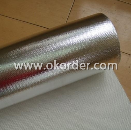 Buy E Glass Fiber Fabric Laminated With Aluminum Foil