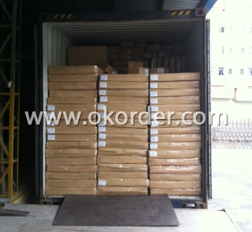 Container Loading of Wooden CD Rack