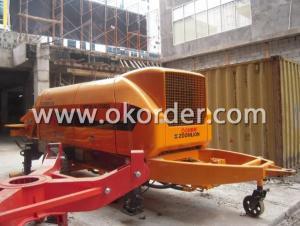 Trailer Concrete Pump HBT60.16.174RUS NEW