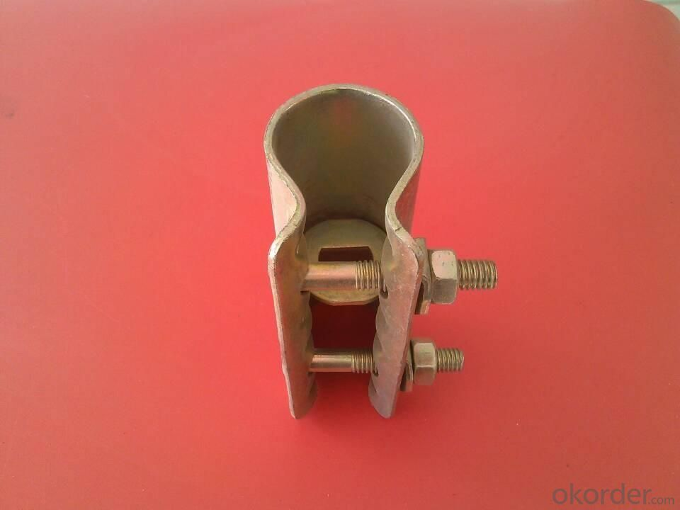 Scaffolding Parts-Pressed Sleeve Coupler