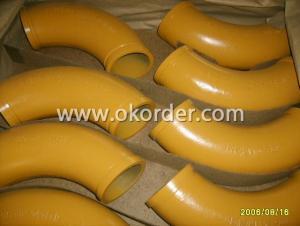 Concrete Pump Elbow R 240 90 Degree  DN125