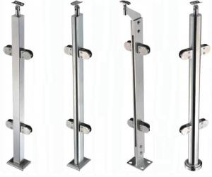 Handrail Balustrade with Glass Clamp