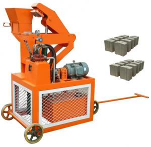 InterLock Brick Making Machine Clay Products In China WT1-20
