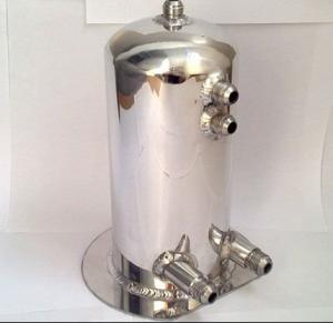 Mirror Polished Fuel Surge Tank for 1L/2L/2.5L/4L/5L