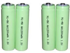 Ni-MH AA 1.2v 1200mAh Battery