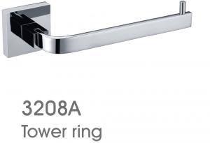 Exquisite Decorative Bathroom Accessories Towel Ring