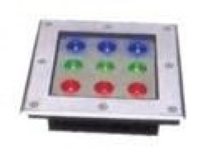 LED Underground Light Square RGB 10W