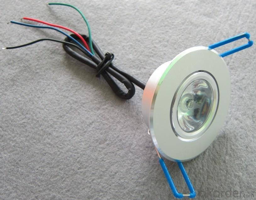 LED Downlight Adjustable RGB Low-voltage 1*3 W