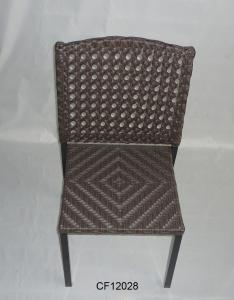 Outdoor Furniture Iron and PE Rattan  Chair