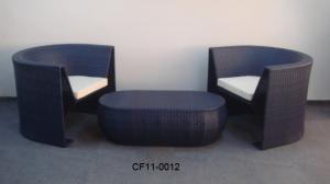 Rattan Modern Outdoor Garden Furniture Table Set