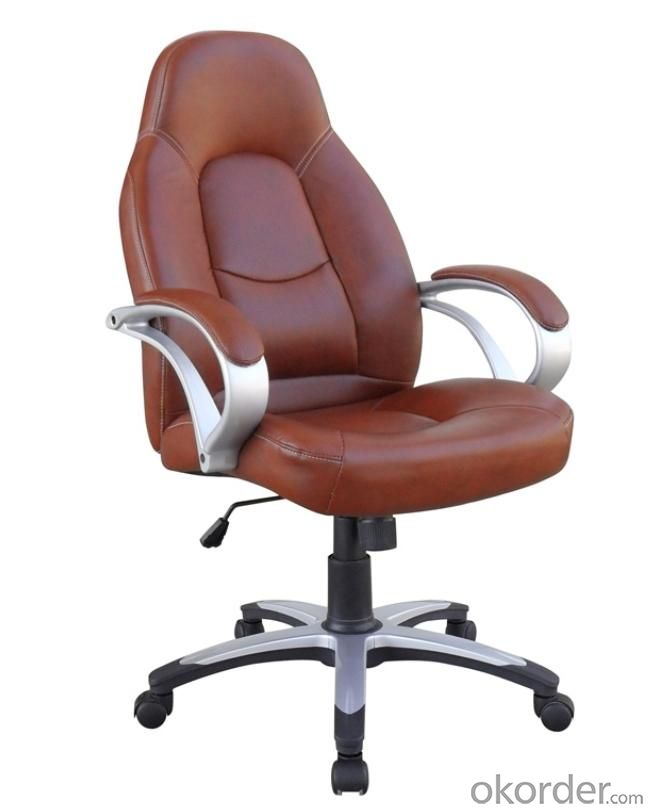 Model Style Hot Selling High Quality Dark Brown High Back Office Chair