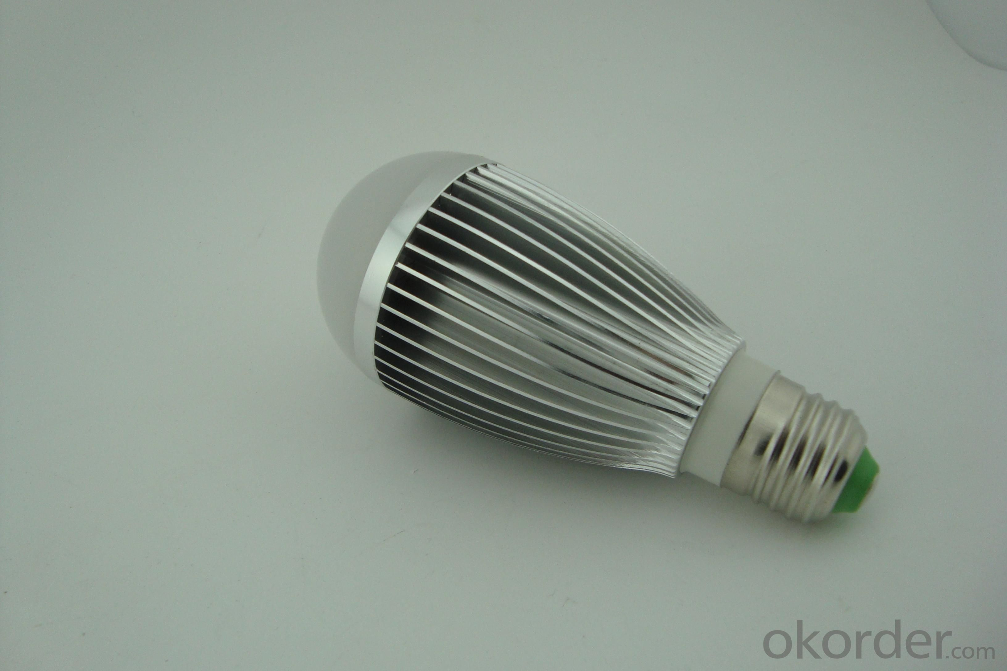 Newest PC Cover LED Dimmable Bulb Wide Light Beam Angle 7W E27
