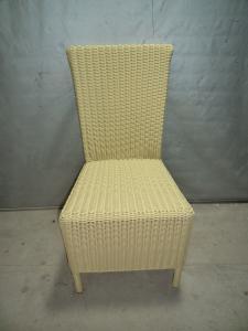 Rattan Iron Shelves Outdoor Garden Furniture Dining Chair
