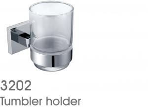 New Design Bathroom Accessories Solid Brass Tumbler Holder