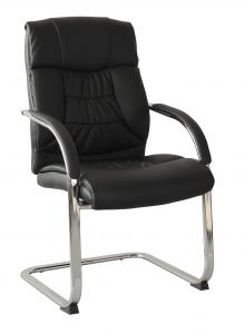 Model Style Hot Selling High Quality Black Visitor's Office Chair