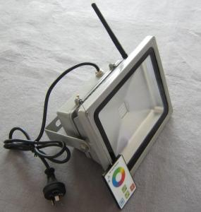 LED RF RGB Flood Light High Brightness IP 65 20W