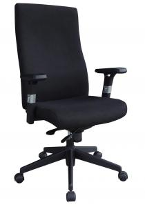 Model Style Hot Selling High Quality High Back Manager's Chair Fabric Ipholstery For Back And Seat Office Chair