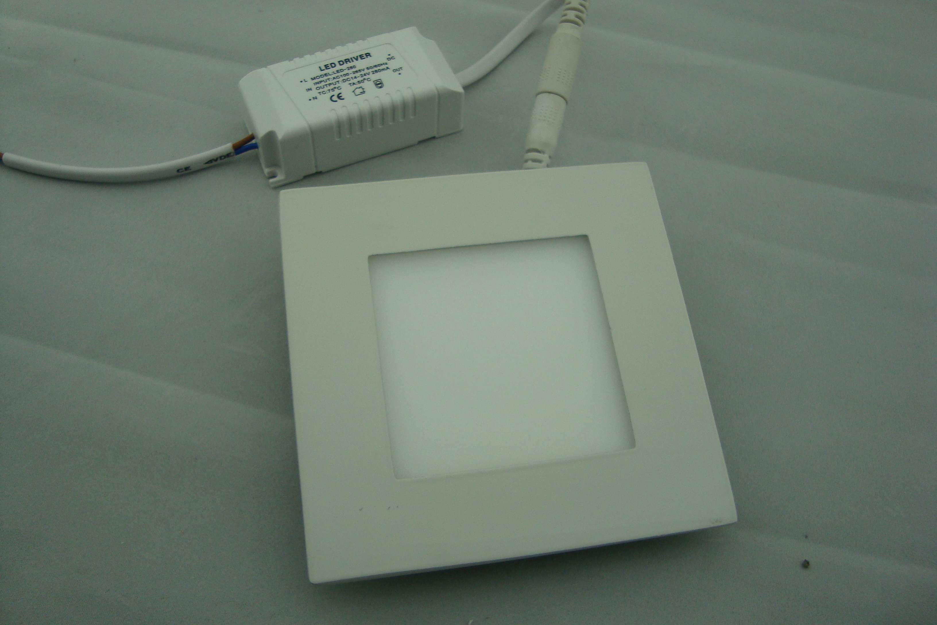 LED Panel Light Square SMD Chip 6W