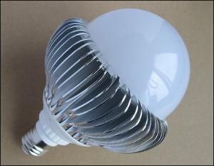 PC Cover LED Bulb Aluminum