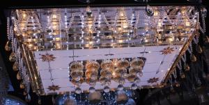 Crystal Ceiling Light Pendant Lights Classic Golden Ceiling Pendant Light 1100*800 LED Lighting
