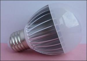 China Manufacture High Quality E27 Dimmable 5W LED Globe Bulb Warm Natural Cool White AC 85V-265V