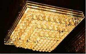 Crystal Ceiling Light Pendant Lights Classic Golden Ceiling Pendant Light 216PCS Light Ball 1000*1000
