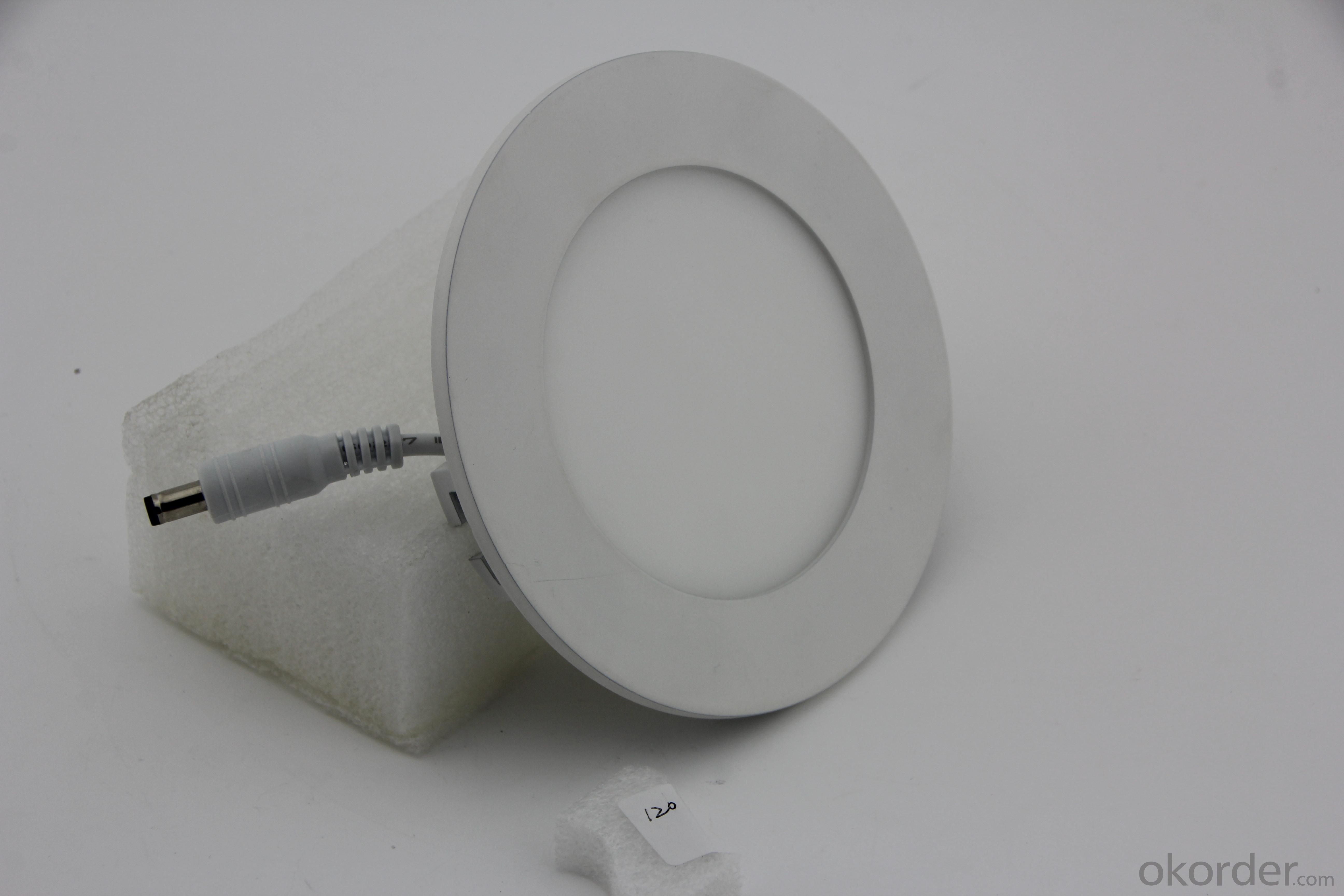 LED Panel Light Round SMD Chip 6W