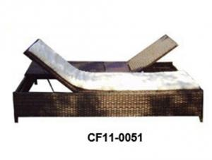 Rattan Outdoor Garden Furniture Can Be Opened Loungle