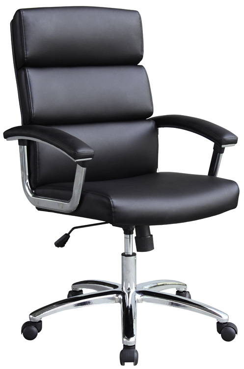 New Design Hot Selling Dark Colour PU Front High Quality Office Chair