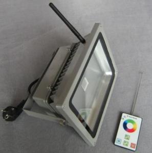 LED RF RGB Flood Light High Brightness IP 65 30W