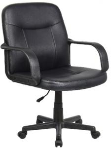 Confortable Low Back Office Chair/250mm Nylon Base/PP Armrests/Butterfly tilt/Office Furniture