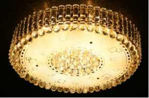 Crystal Ceiling Light Pendant Lights Classic Golden Ceiling Pendant Light 51PCS Light Ball Round D800mm