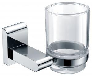 Decorative Organize Exquisite Bathroom Accessories Solid Brass Tumbler Holder