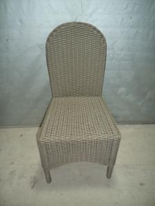 Rattan Aluminum Shelves Outdoor Garden Furniture Dining Chair